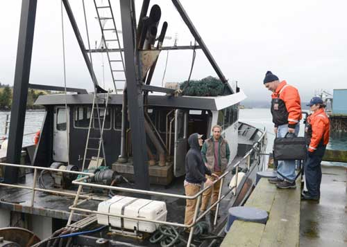 Coast Guard Conducts Dockside Fishing Vessel Exams in Bristol Bay