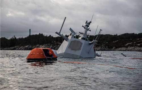 Cleanup and Investigation Continues in Norwegian Frigate/Tanker Collision