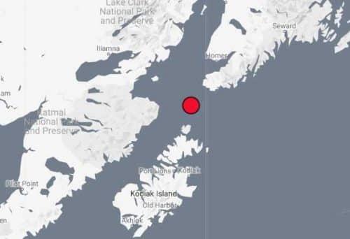Quake Wakes up South Peninsula/Kodiak Island Residents Early Monday Morning