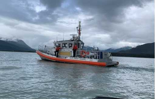 Coast Guard medevacs 90-year-old man from yacht near Betton Island