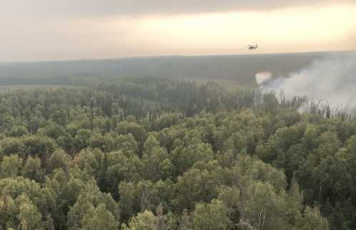 Alaska National Guard Supports the Division of Forestry