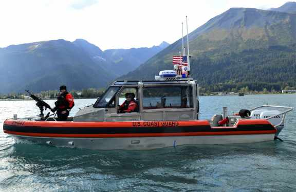 Coast Guard Crews Provide Coverage for Navy, Marine Corps Arctic Exercise in Alaska