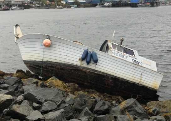 Coast Guard Responds to Vessel Aground near Sitka