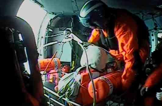 Coast Guard Medevacs Man near Sitkinak Island