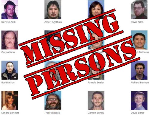 Updated Webpage Provides Comprehensive Listing of Alaska's Missing Persons