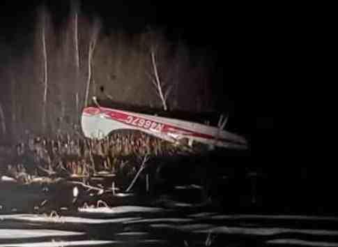 Army Aviators Assist Plane Crash Survivors
