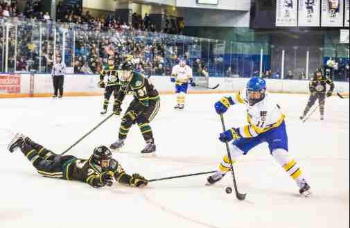 The Physics of Slapshots and Mid-Ice Collisions