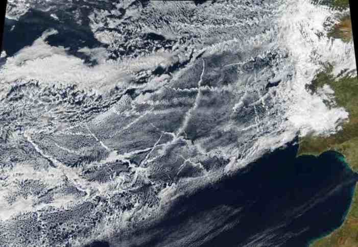 Ships' Emissions Create Measurable Regional Change in Clouds