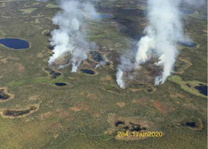 Wildfire Discovered in Denali