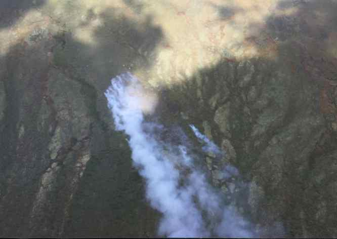 BLM AFS Aircraft, Smokejumpers Working on New Fire Northwest of Circle