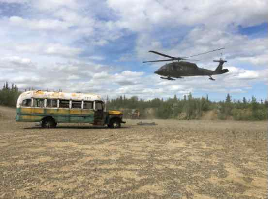 State plans to house Stampede Trail bus at UA Museum