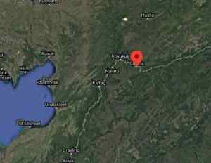 Location of Kala Slough across the Yukon River from Galena. Image-Google Maps