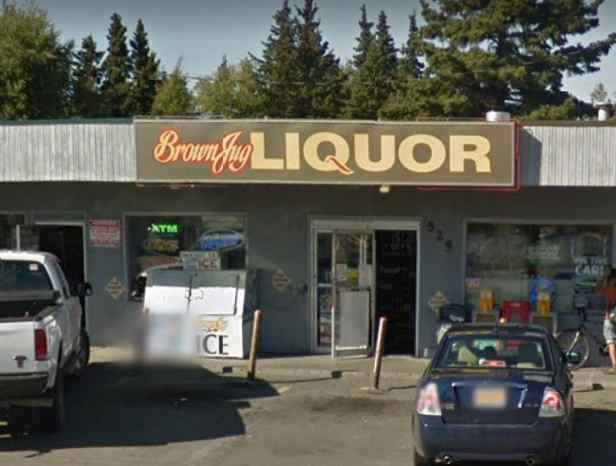 Anchorage Man Charged with Robbery after Stealing Booze and Assaulting Brown Jug Employees
