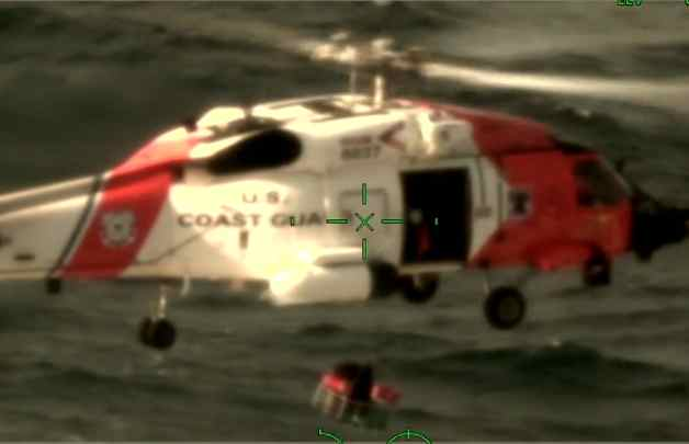 Coast Guard Medevacs Crewmember near Dutch Harbor