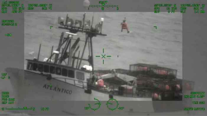 Coast Guard Medevacs Injured Fisherman Near Cold Bay