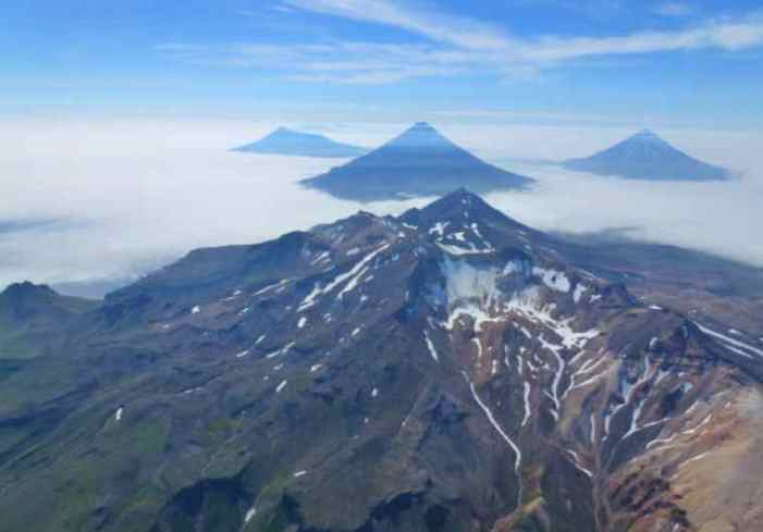 Alaska's Islands Of The Four Mountains Could Be Single Giant Volcano