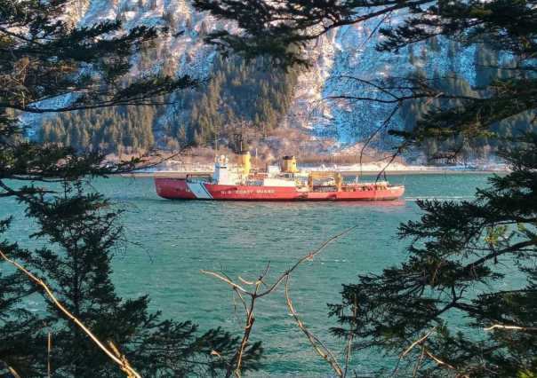 Coast Guard Cutter Polar Star Nears End of Months-Long Arctic Deployment