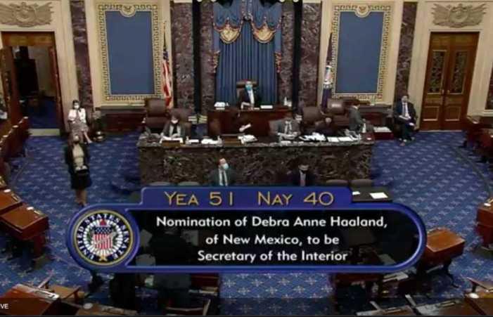 'Historic and Hopeful Moment': Senate Confirms Haaland as Interior Secretary