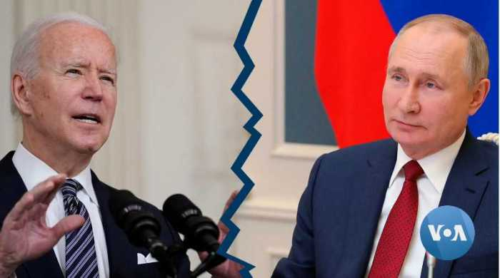Russia Recalls Ambassador Following Biden Comments