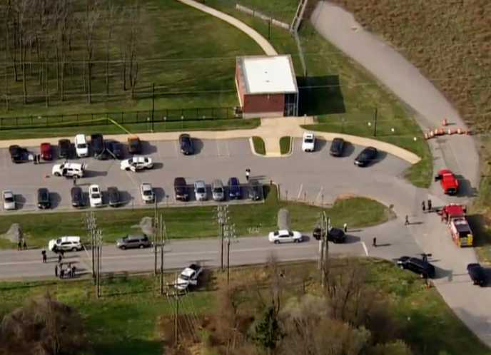 Two People Critically Injured, Gunman Dead in Maryland Shooting