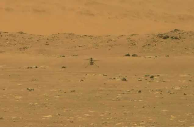 NASA's Mars Helicopter Takes First Successful Test Flight