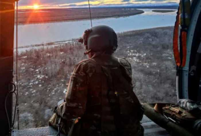 Alaska Army National Guard rescues four boaters stranded on Kuskokwim River