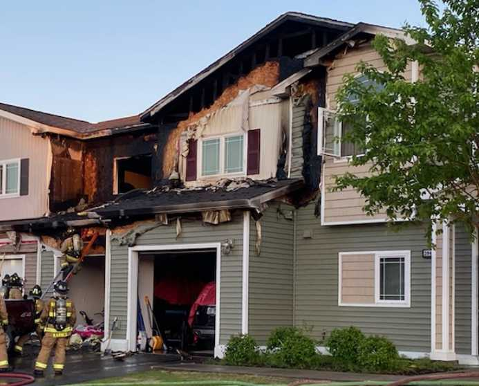 Fire in Fort Wainwright housing unit, no injuries