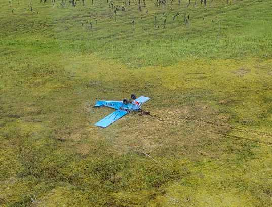 Both Occupants of Piper Crash in Kenai National Wildlife Survive Without Injuries