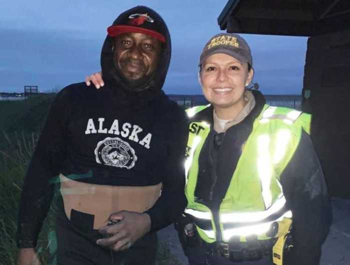 Trooper Saves Boy, Dipnetter Saves Trooper and Boy in Kenai River Rescue