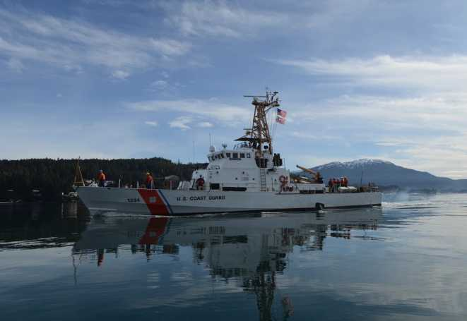 Coast Guard Rescues Overdue Boater on Naked Island