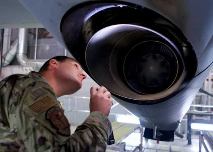 HC-130 crew chief gets on-the-job training with 176th Aircraft Maintenance Squadron