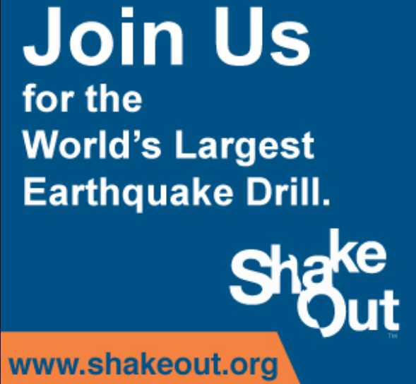 Great Alaska Shakeout chance for all Alaskans to practice Drop, Cover, Hold On