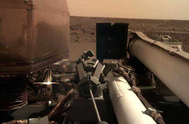 InSight Is Catching Rays on Mars