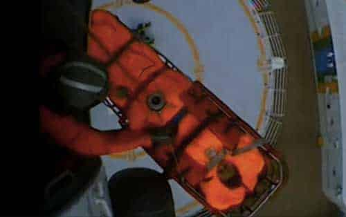 Coast Guard Helicopter Crew Medevacs Woman from Cruise Ship near Craig