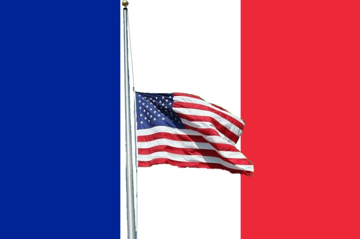 Governor Orders Flags Lowered in Honor of Paris Victims