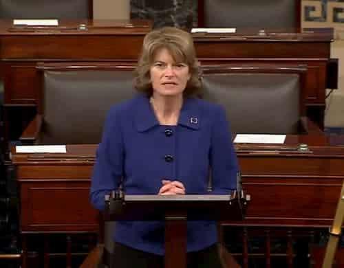 Senator Murkowski Votes to Uphold Separation of Powers