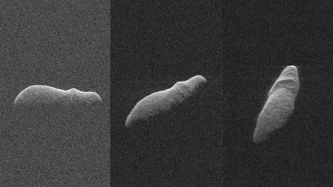 Holiday Asteroid Imaged with NASA Radar