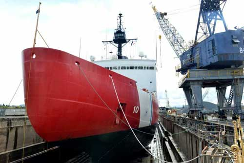 Coast Guard Cutter Polar Star Returns to Seattle after Six Months in Dry Dock