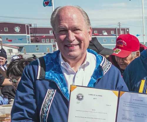 Governor Walker and Lt. Governor Mallott Honor Indigenous Peoples Day in Alaska