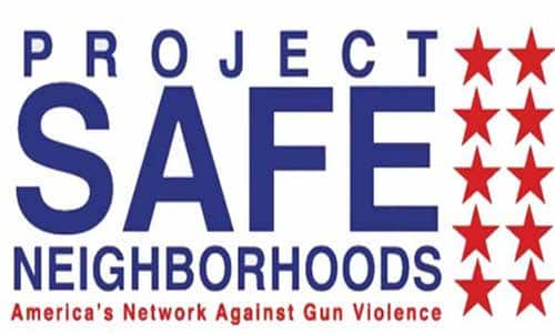 Project Safe Neighborhoods Marks One-Year Anniversary