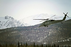 HH-60 Pave Hawk Helicopter with the 210th Rescue Squadron. Image-Alaska Air National Guard