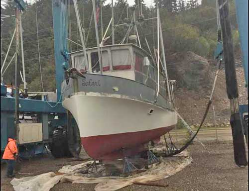 Sitka Man Rescued from Sinking Vessel