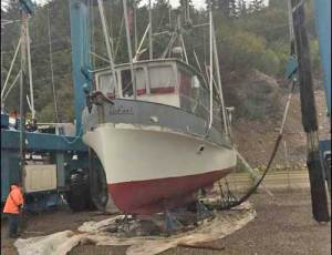 F/V Safari prior to launch earlier this month. Image-M Bigelow/Facebook profiles.