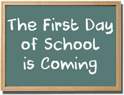 The First Day of School is upon Us. So are Some New Rules