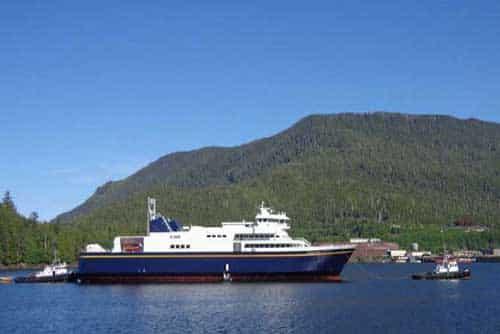 First Lady of Alaska Christens Brand New M/V Tazlina
