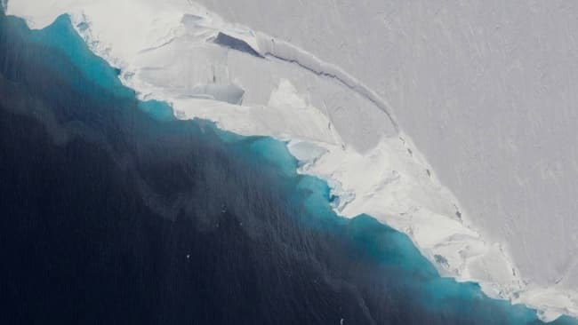 Huge Cavity in Antarctic Glacier Signals Rapid Decay