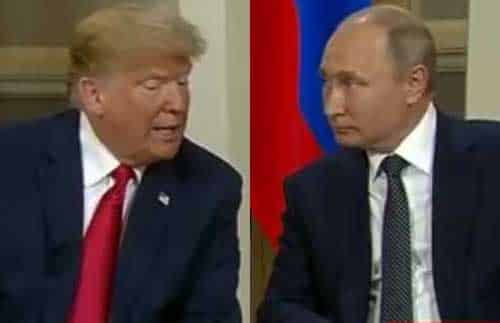 Trump Fails to Blame Putin for Election Meddling