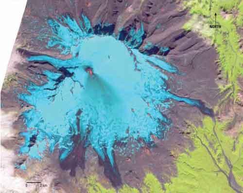 Alert Level Raised to Orange on Mount Veniaminof Volcano