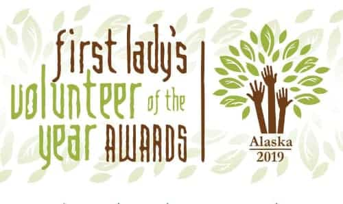 Nominations now being accepted for First Lady Dunleavy's Volunteer of the Year Awards
