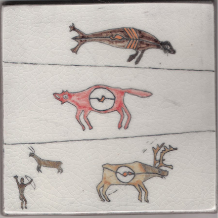 Seal, Fox, Caribou